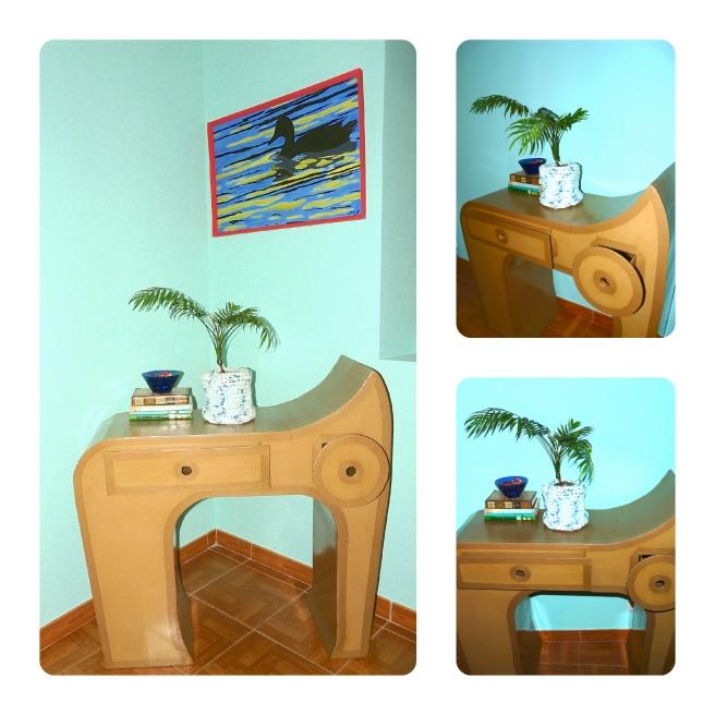 mueble cartón